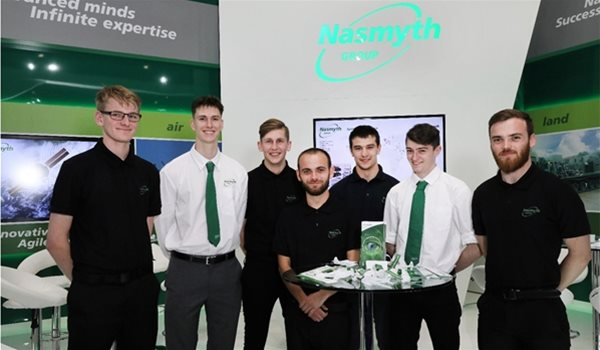 Nasmyth Group Supports Skills Day at DSEI 2017