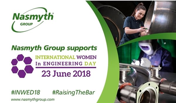 Nasmyth Group marks International Women in Engineering Day