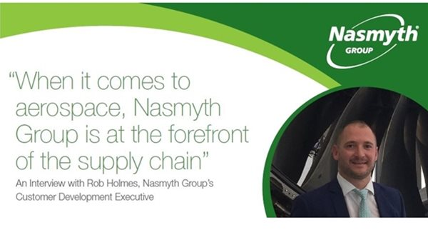 """When it comes to aerospace, Nasmyth Group is at the forefront of the supply chain"""