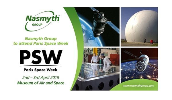 Nasmyth Group to attend Paris Space Week