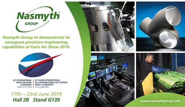 Nasmyth Group to demonstrate its aerospace capabilities at Paris Air Show