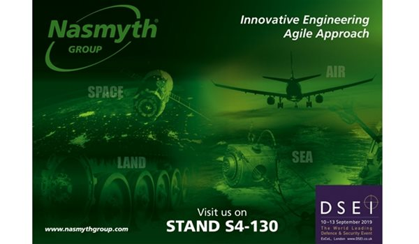 Nasmyth Group to exhibit at DSEI