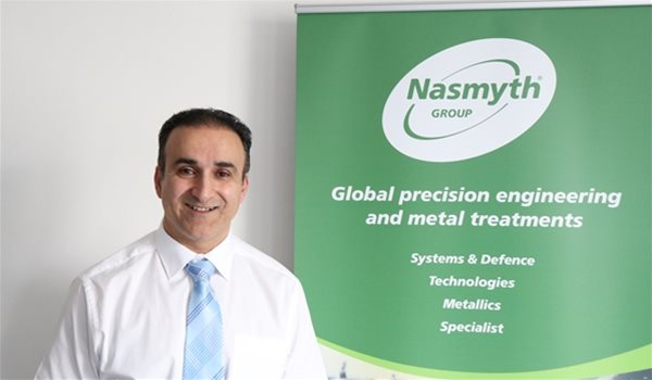 Nav Sandhu appointed Nasmyth Group's Head of Programme and Project Management