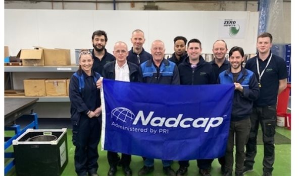 Nasmyth Coventry Awarded Merit Status for Nadcap