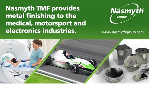 Nasmyth TMF provides metal finishing to the medical, motorsport and electronics industries