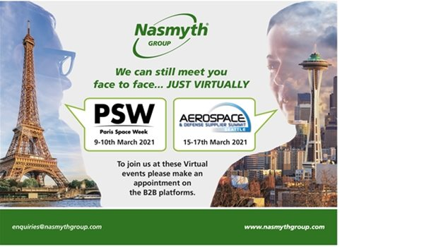 We will see you at Paris Space Week and A&DSS....... just virtually!!
